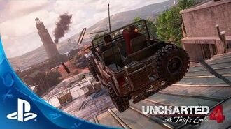 UNCHARTED 4 A Thief's End - E3 2015 Press Conference Demo PS4