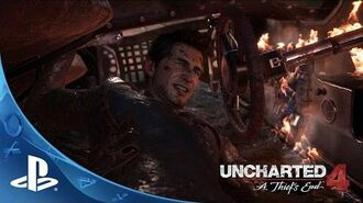 UNCHARTED 4 A Thief's End - E3 2015 - Sam Pursuit Gameplay PS4