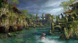 Drowned City Concept Art
