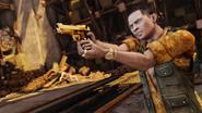 Эдди с золотой пушкой