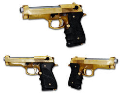 Gold Barettas