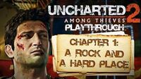 Uncharted 2 Among Thieves (PS3) - Chapter 1 A Rock and a Hard Place - Playthrough Gameplay
