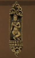Carved Bone Ornament