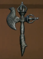 Tibetan Ceremonial Axe