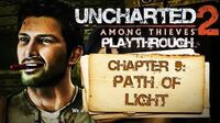 Uncharted 2 Among Thieves (PS3) - Chapter 9 Path of Light - Playthrough Gameplay