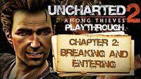 Uncharted 2 Among Thieves (PS3) - Chapter 2 Breaking and Entering - Playthrough Gameplay
