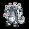 Jeweled Silver Monkey