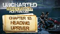 Uncharted Drake's Fortune (PS3) - Chapter 12 Heading Upriver - Playthrough Gameplay