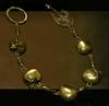 Golden Skull Rosary