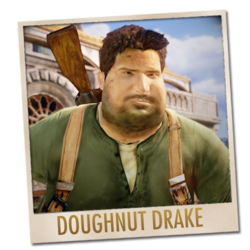 Doughnut Drake from Among Thieves