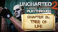 Uncharted 2 Among Thieves (PS3) - Chapter 26 Tree of Life ENDING - Playthrough Gameplay