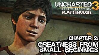 Uncharted 3 Drake's Deception (PS3) - Chapter 2 Greatness from Small Beginnings - Gameplay
