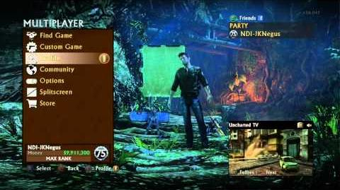 Uncharted 3 multiplayer matchmaking