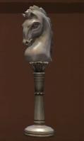 Ivory Chess Knight