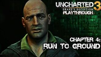 Uncharted 3 Drake's Deception (PS3) - Chapter 4 Run to Ground - Playthrough Gameplay