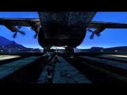Nate chasing Cargo Plane