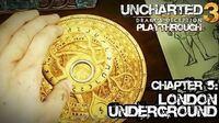 Uncharted 3 Drake's Deception (PS3) - Chapter 5 London Underground - Playthrough Gameplay