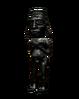 Silver Inca Figurine