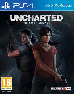 The Lost Legacy front cover (US)