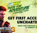 Subway Taste For Adventure sweepstakes