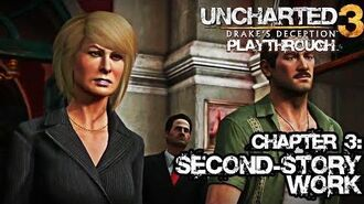 Uncharted 3 Drake's Deception (PS3) - Chapter 3 Second-story Work - Playthrough Gameplay