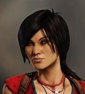Chloe Frazer Uncharted 2 render