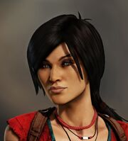 Chloe Frazer Uncharted 2 render