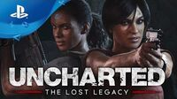 Uncharted The Lost Legacy - Release Date Trailer PS4