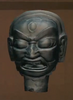 Clay Deity Head