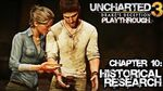 Uncharted 3 Drake's Deception (PS3) - Chapter 10 Historical Research - Playthrough Gameplay