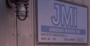Jameson Marine sign