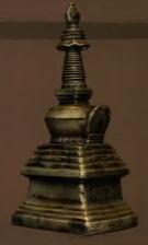 Miniature Bronze Stupa