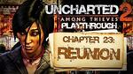 Uncharted 2 Among Thieves (PS3) - Chapter 23 Reunion - Playthrough Gameplay