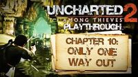 Uncharted 2 Among Thieves (PS3) - Chapter 10 Only One Way Out - Playthrough Gameplay