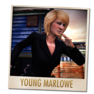 Young Marlowe multiplayer card