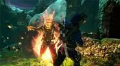 Salim vs fire spirit