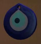 Glass Evil Eye