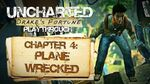 Uncharted Drake's Fortune (PS3) - Chapter 4 Plane Wrecked Gameplay Playthrough