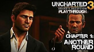 Uncharted 3 Drake's Deception (PS3) - Chapter 1 Another Round - Playthrough Gameplay
