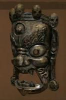 Wooden Vajrapani Mask