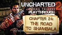Uncharted 2 Among Thieves (PS3) - Chapter 24 The Road to Shambala - Playthrough Gameplay