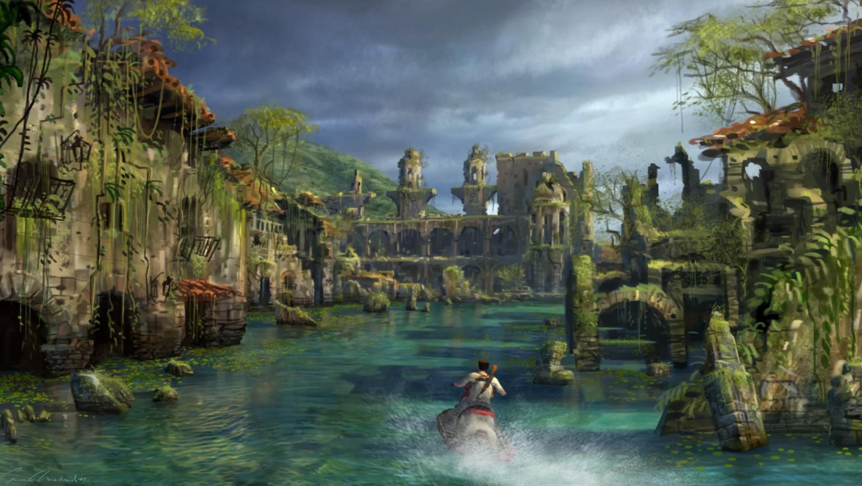 Atlantis Versunkene Stadt