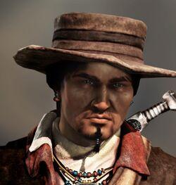 Tenzin Uncharted 2 render