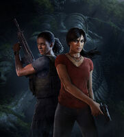 Uncharted The Lost Legacy Keyart