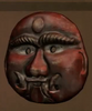 Copper Lakhe Mask