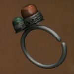 Tibetan Silver Earing