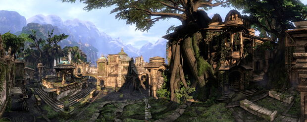 The Lost City panorama by AlgoRhythmic
