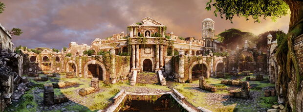 The Fort panorama by AlgoRhythmic