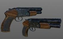 Pistolón en Uncharted 4