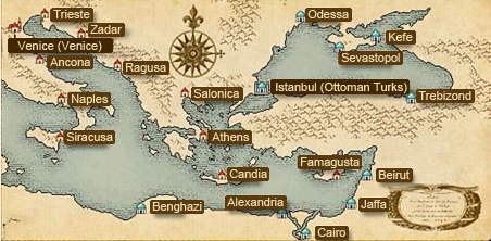 Eastern Europe Official Uncharted Waters Wiki FANDOM Powered - Map of eastern europe